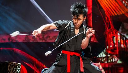 """Tomonari """"Black"""" Ishiguro, sang master yoyo. (Dok. Istimewa)"""