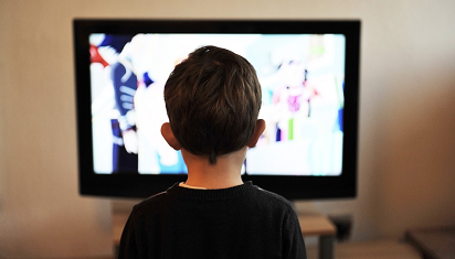Anak dan televisi. (Dok. Istimewa)