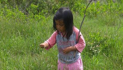 Anak terlahir sebagai naturalis. (Dok. LF)