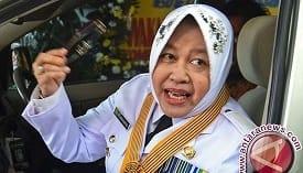 Walikota Surabaya Tri Rismaharini. Foto: Antara