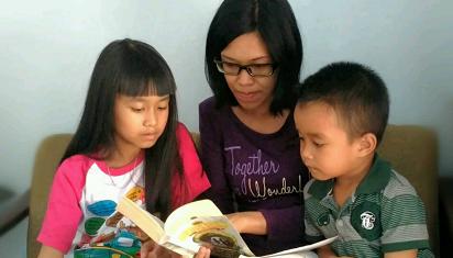 Oleh anak-anak, kita didewasakan. (Dok. MSP)