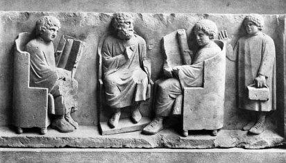 Pendidikan era Romawi Kuno.
