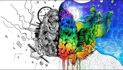 Belahan otak kanan dan kiri mestinya seimbang, (Dok. Istimewa)