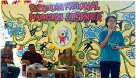 Pertemuan Nasional Pendidikan Alternatif. Foto: Mira Julia