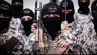 Bocah-bocah kombatan ISIS. (Dok. Istimewa)