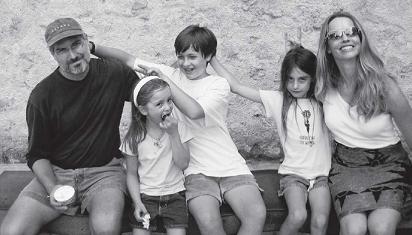 Keluarga Steve Jobs. (Dok. Istimewa)